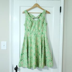 Lilly Pulitzer Freja Fit & Flare Dress- Size 10